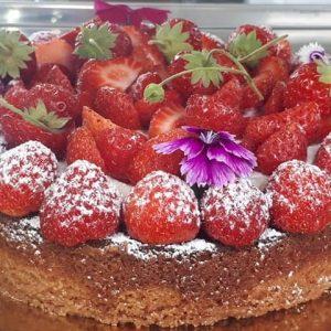 tarte aux fraises gros gateaux
