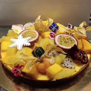 tarte aux fruits exotique gros gateaux