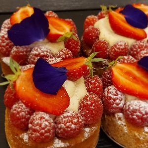 Tarte fruit rouge